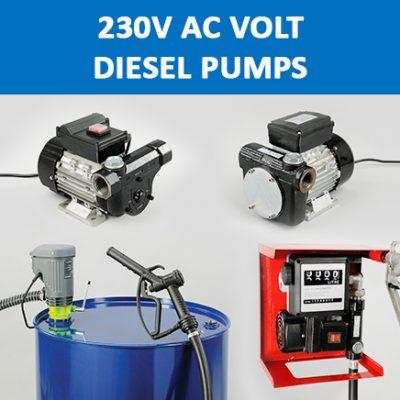 230V AC Volt Diesel Pumps
