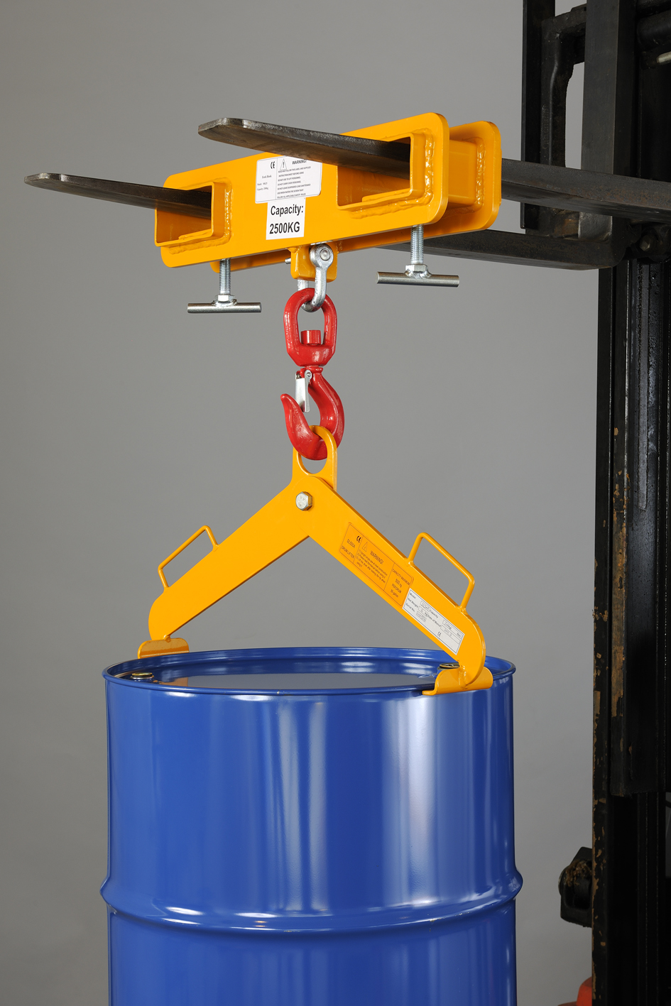 Model No Dls500 Horizontal Drum Lifter Ige Industrial