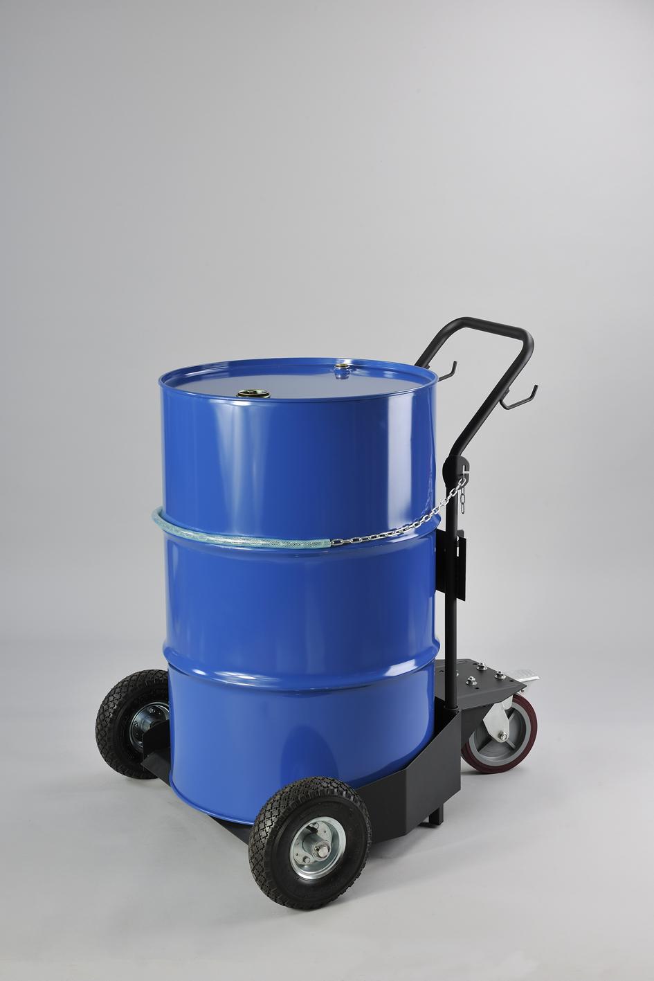 Plastic Gas Cans >> Model Nos. PT45 - PT45X Platform Drum Trucks / Barrel Trolleys - IGE - Industrial & Garage Equipment