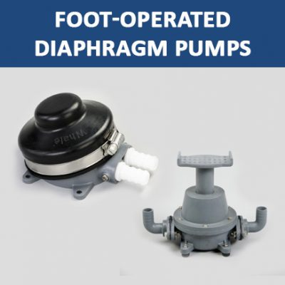 Foot-Operated Diaphragm Pumps