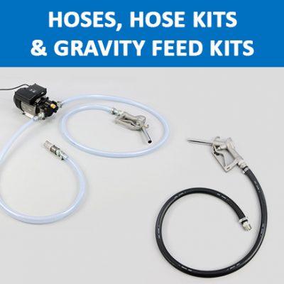 Hoses, Hose Kits & Gravity Feed Kits