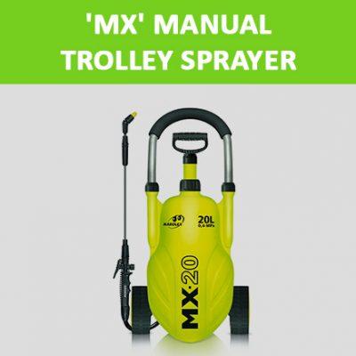 'MX' Manual Trolley Sprayer