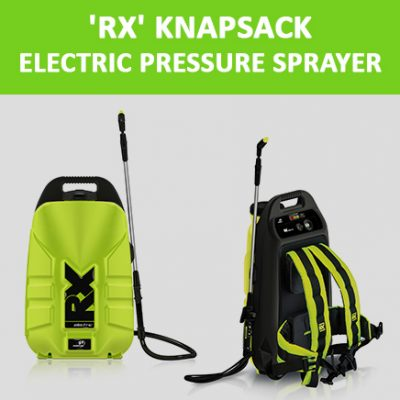 'RX' Knapsack Electric Pressure Sprayers