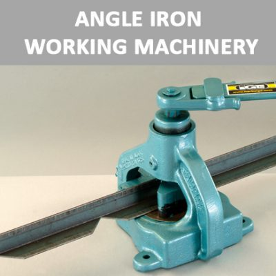 Angle Iron Working Machinery