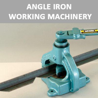 Angle Iron Working Machinery