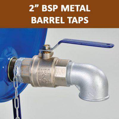 """2"""" BSP Metal Barrel Taps"""
