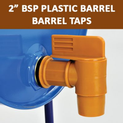 "2"" BSP Plastic Barrel Taps"