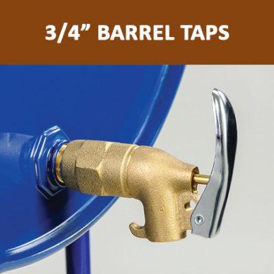 """3/4"""" Barrel Taps"""