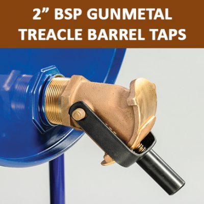 """2"""" BSP Gun Metal Treacle Barrel Taps"""