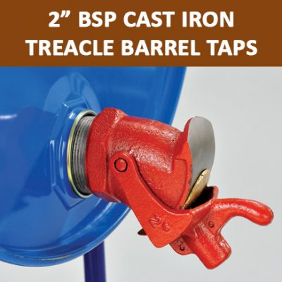 "2"" BSP Cast Iron Treacle Barrel Taps"