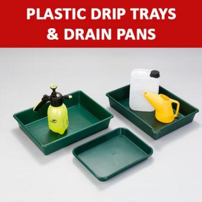 Plastic Drip Trays & Drain Pans