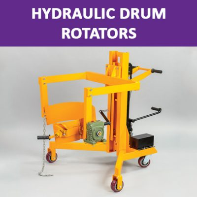Hydraulic Drum Rotators