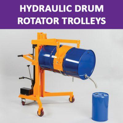 Hydraulic Drum Rotator Trolleys