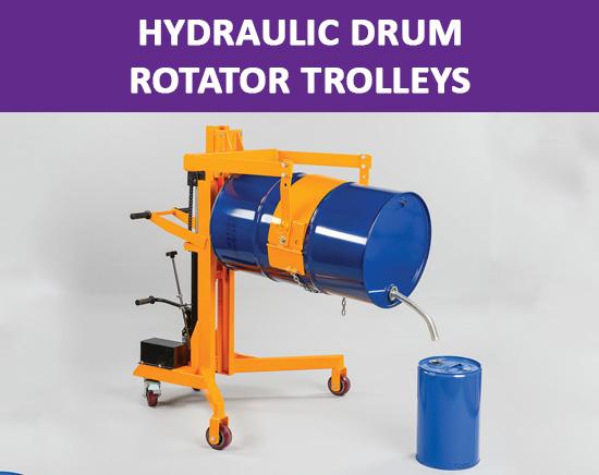 Hydraulic Drum Rotator Trolleys Archives Ige