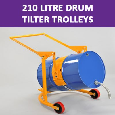 210 Litre Drum Tilter Trolleys