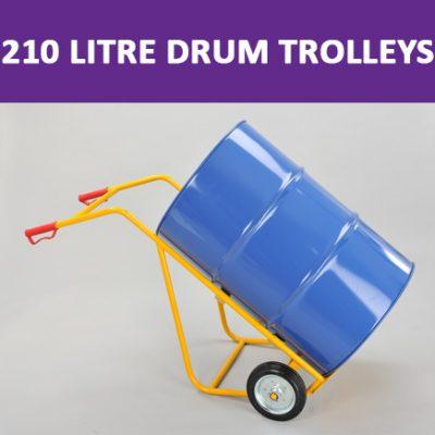 210 Litre Drum Trolleys