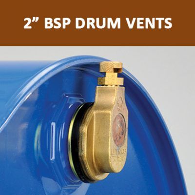 "2"" BSP Drum Vents"