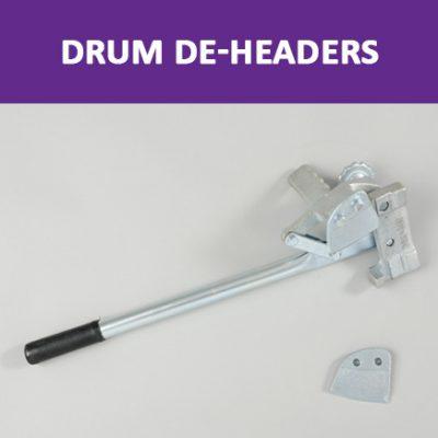Drum De-Headers