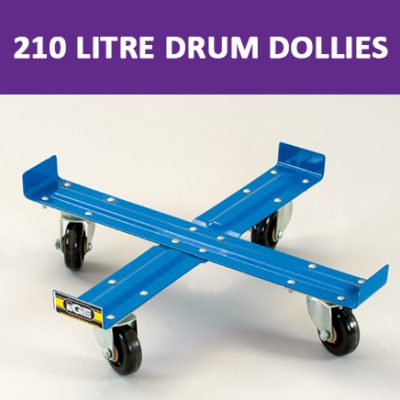 210 Litre Drum Dollies