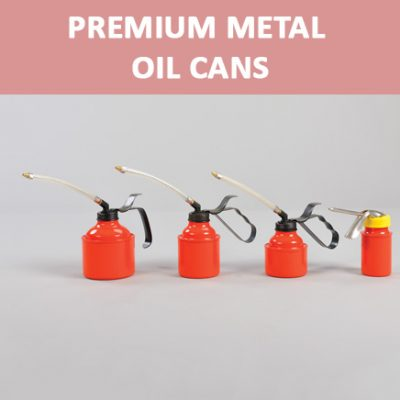 Premium Metal Oil Cans