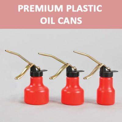 Premium Plastic Oil Cans