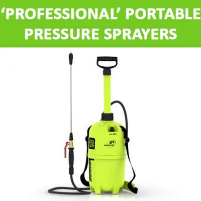 'Professional' Portable Pressure Sprayers