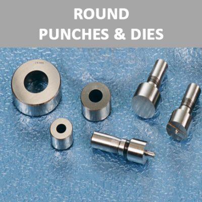 Round Punches & Dies