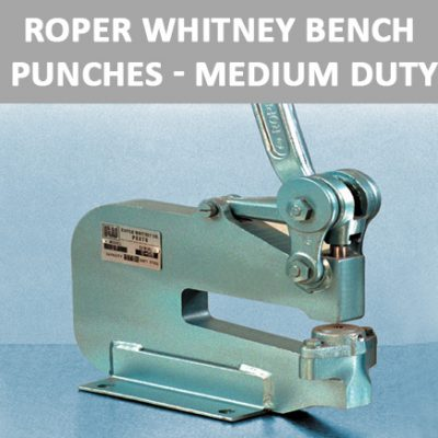 Roper Whitney Bench Punches - Medium Duty
