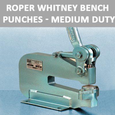 Roper Whitney Bench Punches - Medium Duty
