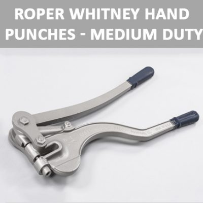 Roper Whitney Hand Punches - Medium Duty