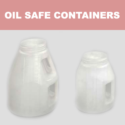 Oil Safe Containers