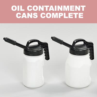 Oil Containment Cans Complete