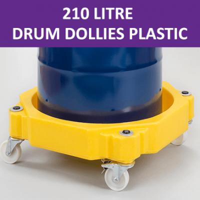 210 Litre Drum Dollies Plastic