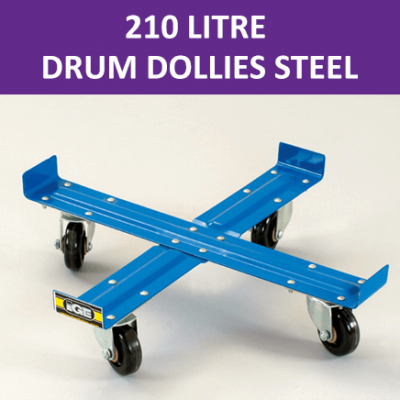 210 Litre Drum Dollies Steel